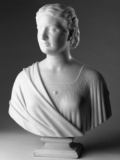Bust of Anne Sinton Taft 1870