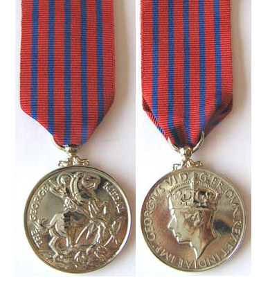 Photographs of the United Kingdom George Medal