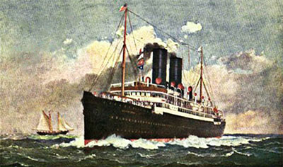 SS Caledonia - Anchor Line