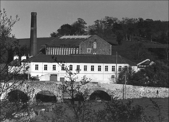Linen Mill of Thomas Sinton, Tandragee, Co. Armagh, Northern Ireland, United Kingdom 1969