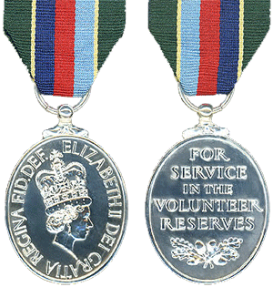 Volunteer Reserve Decoration Medal